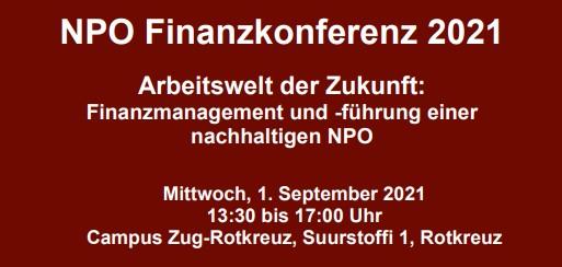 NPO Finanzkonferenz 2021: Arbeitswelt der Zukunft